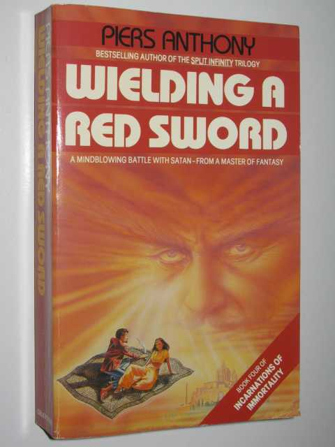 Wielding a Red Sword - Incarnations of Immortality #4, Anthony, Piers