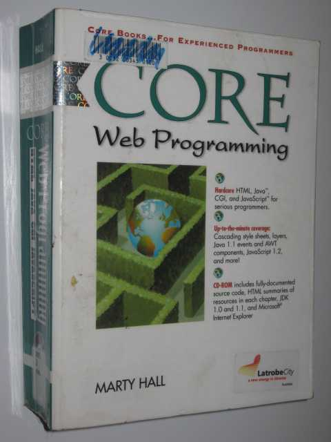 Core Web Programming, Hall,Marty