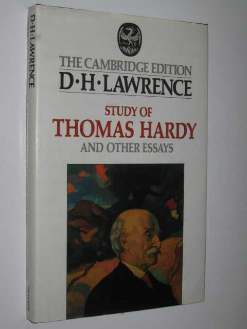 Study of Thomas Hardy and Other Essays, Lawrence,D. H.