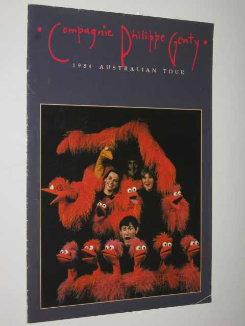 Compagnie Philiippe Genty : 1984 Australian Tour, Author Not Stated