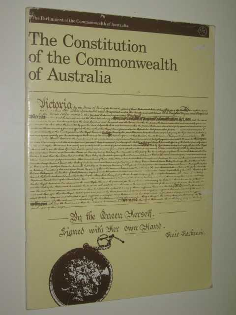 The Constitution : As Altered To 30 June 1987, Author Not Stated