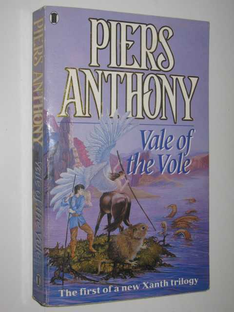 Vale of the Vole - Magic of Xanthe Series, Anthony, Piers