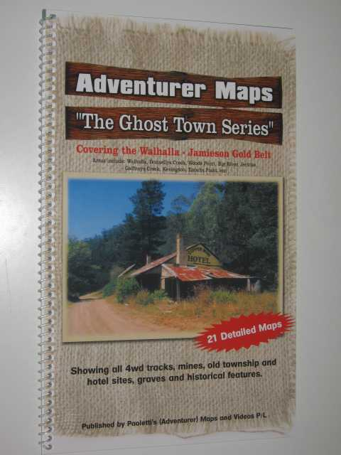Image for Adventurer Maps : The Ghost Town Series