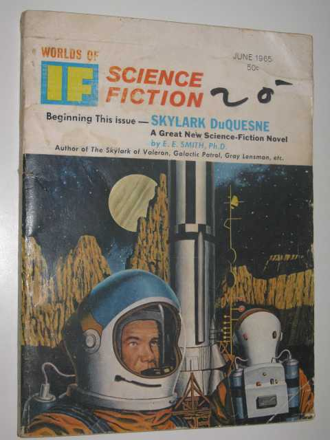 IF: Worlds of Science Fiction June 1965 : Vol. 15, No. 6, Author Not Stated