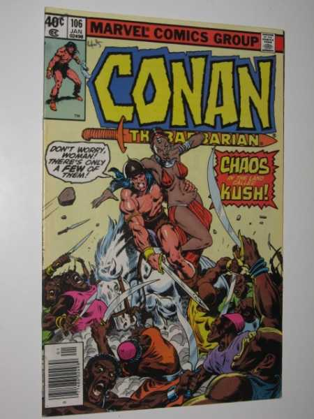Conan the Barbarian #106, Various