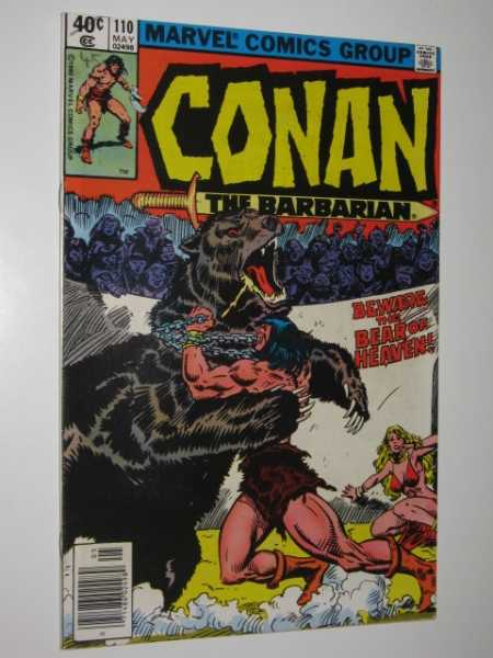 Conan the Barbarian #110, Various