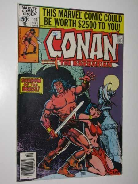 Conan the Barbarian #114, Various