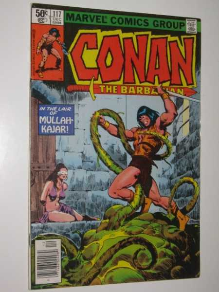 Conan the Barbarian #117, Various