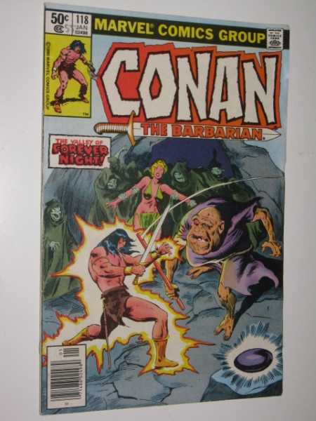 Conan the Barbarian #118, Various