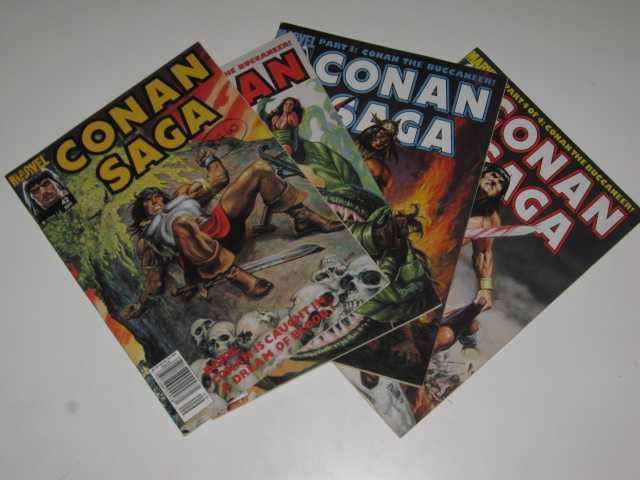 Conan Saga #42-45 : Conan the Buccaneer! in 4 parts, Various