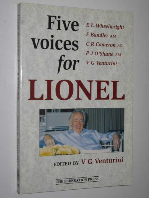Five Voices for Lionel, Venturini,V. G. (edited)