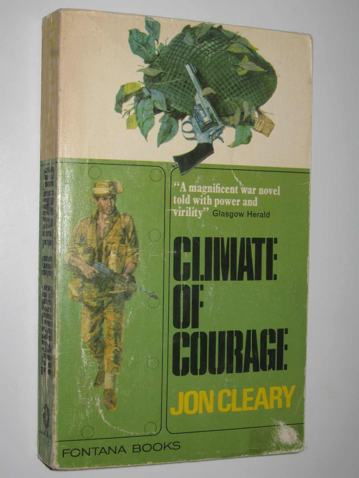 Climate of Courage, Cleary, Jon