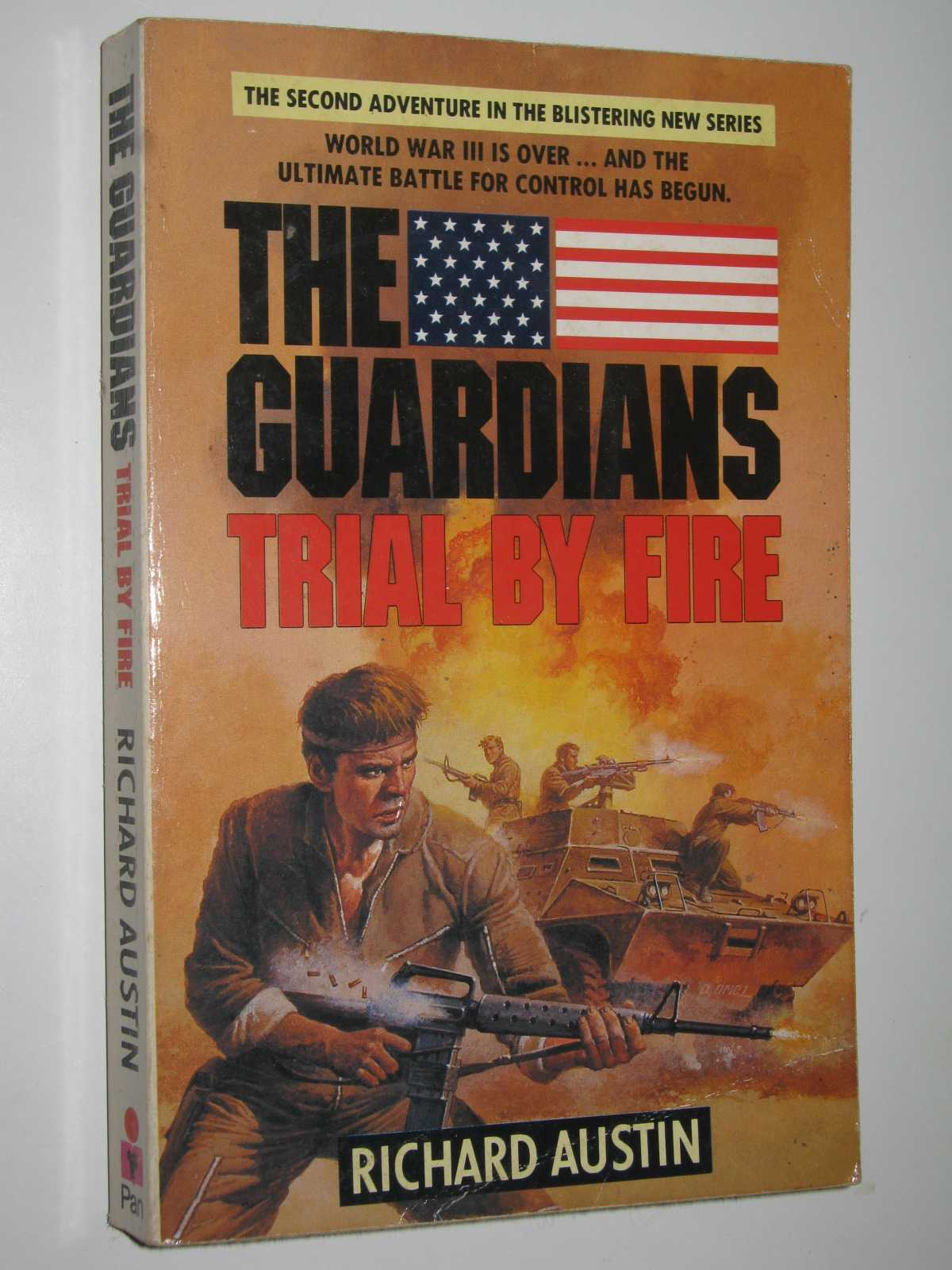 Trial by Fire - The Guardians Series #2, Austin, Richard