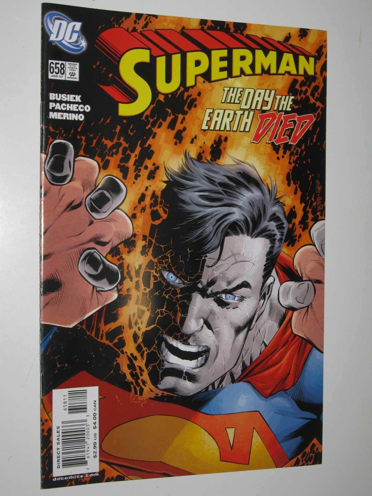 Superman #658 : January 2007, Busiek + Pacheco + Merino