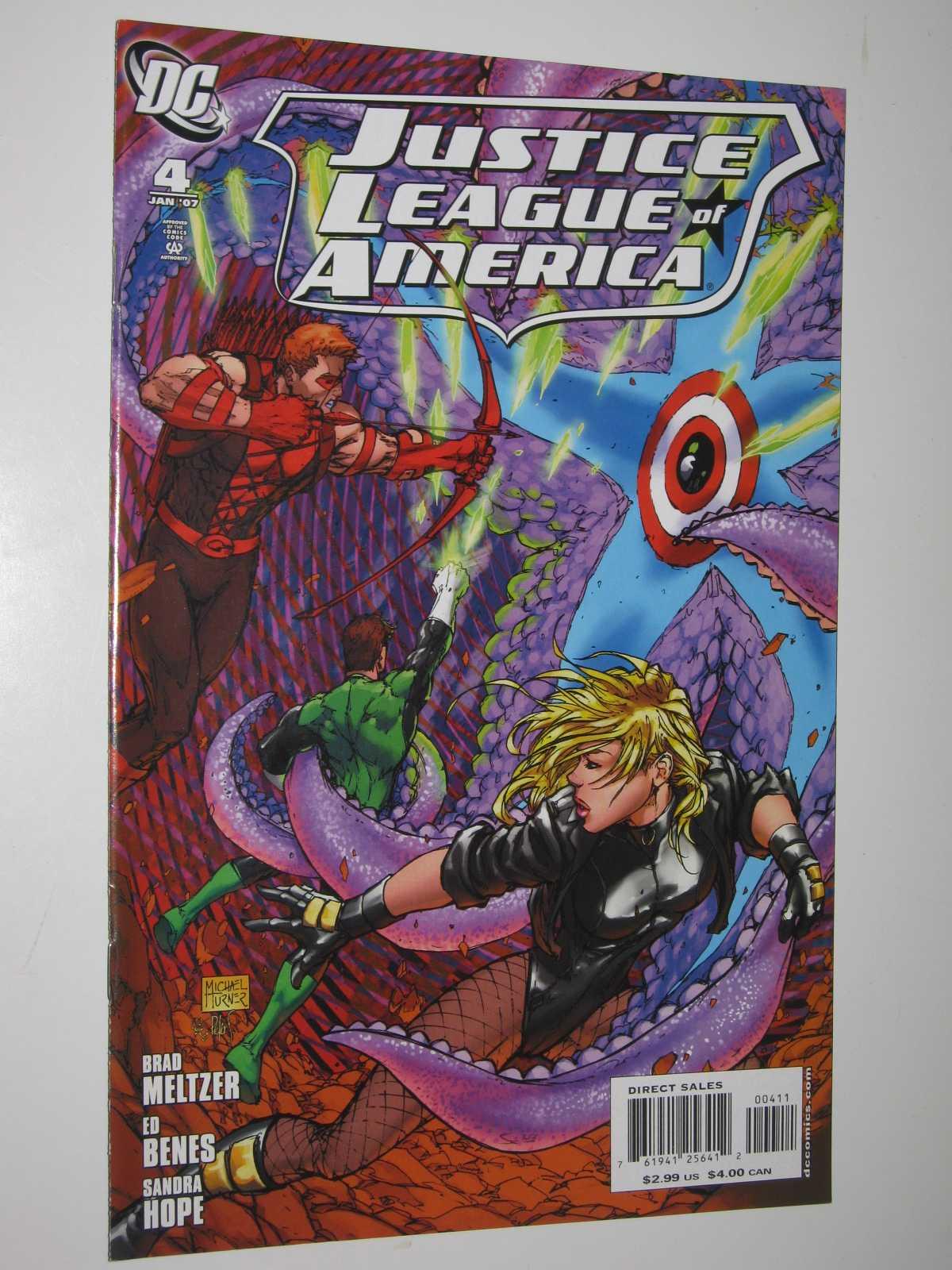 Justice League of America #4 : January 2007, Meltzer, Brad