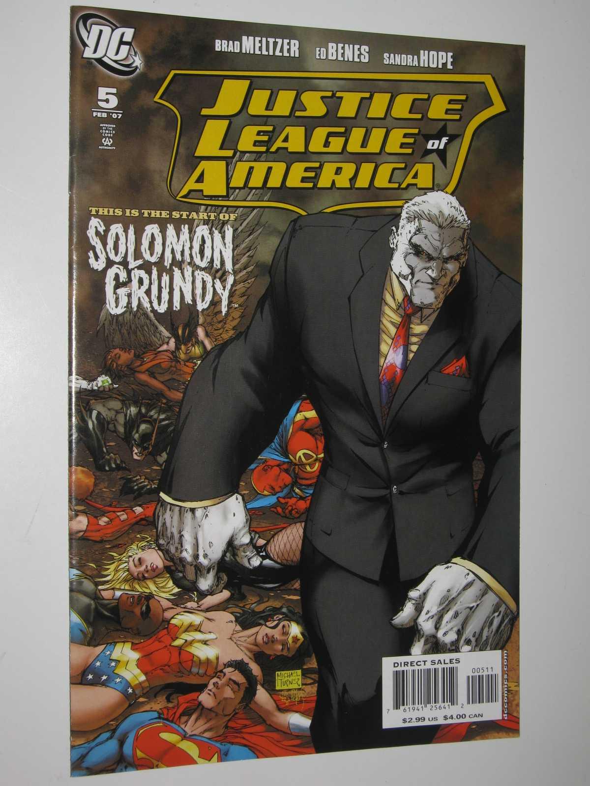 Justice League of America #5 : February 2007, Meltzer, Brad