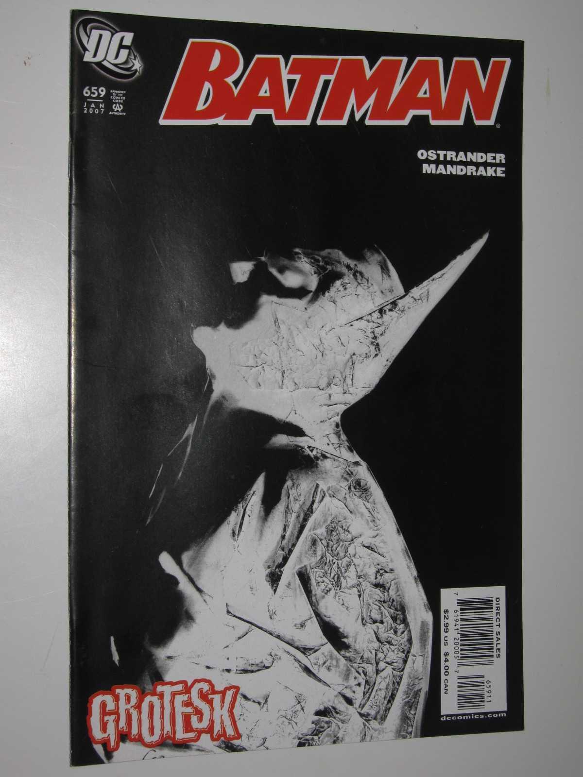 Batman #659 : January 2007, Ostrander + Mandrake