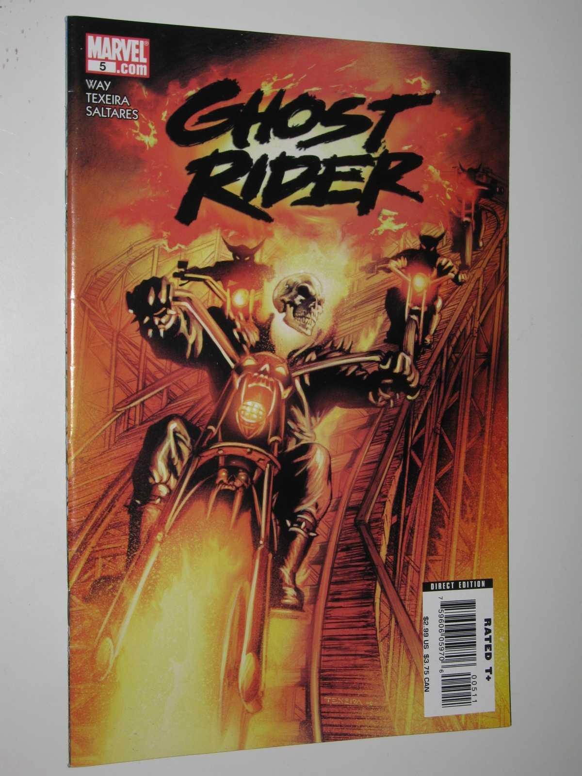 Ghost Rider #5 - January 2007, Way + Texeira + Saltares