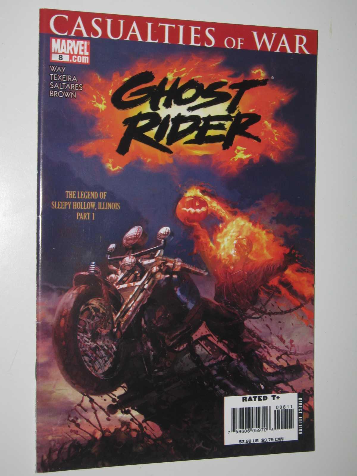 Ghost Rider #8: Casualties of War - April 2007, Way + Texeira + Saltares + Brown