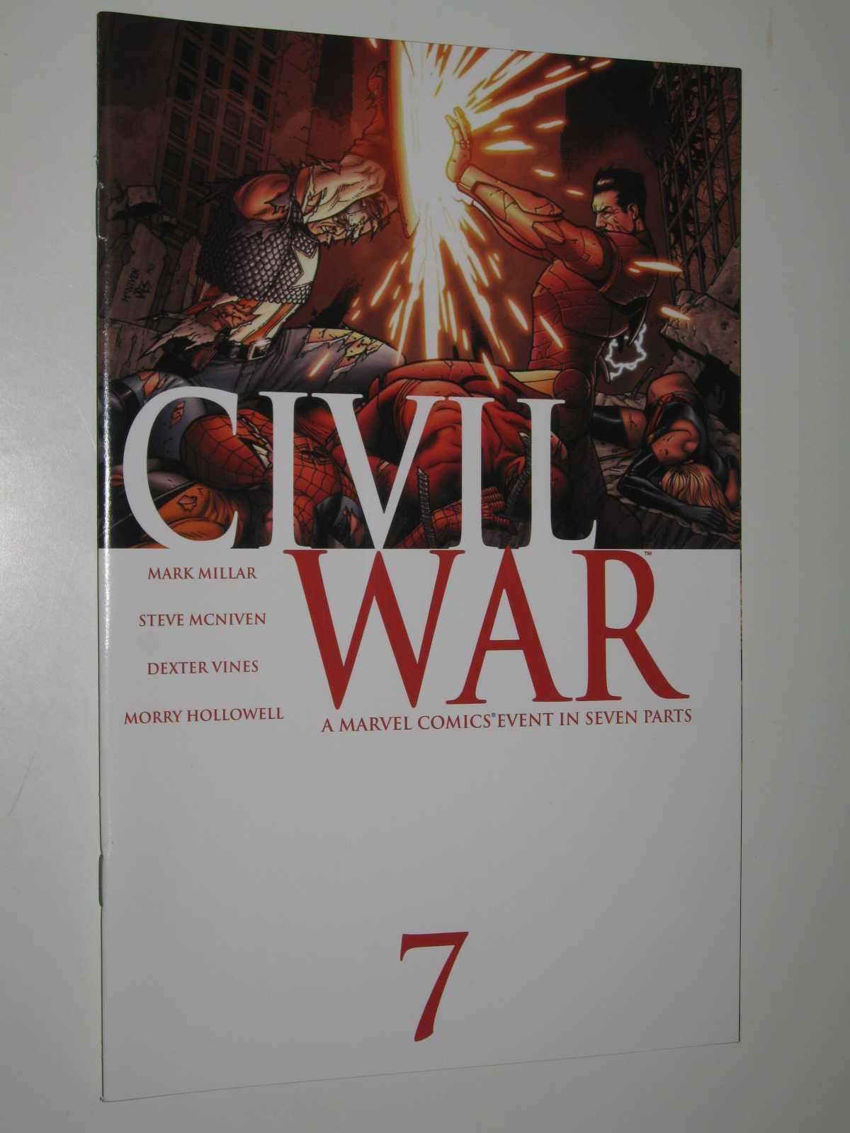 Civil War 7: A Marvel Comics Event in Seven Parts - January 2007, Millar, Mark