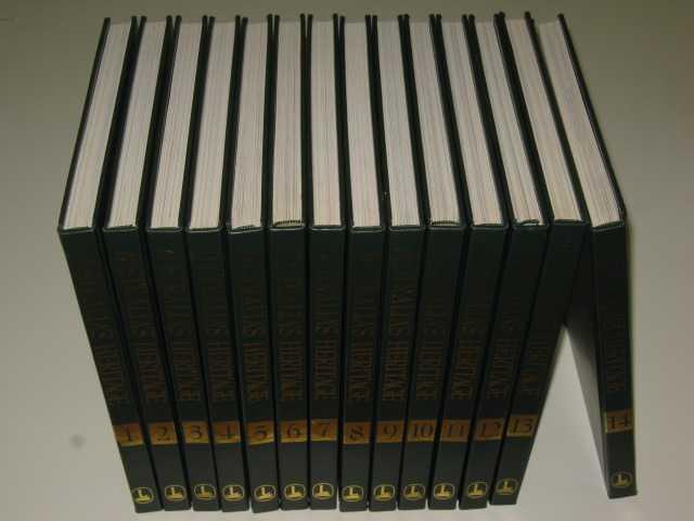 Australias Heritage 1788-1988 14 volumes