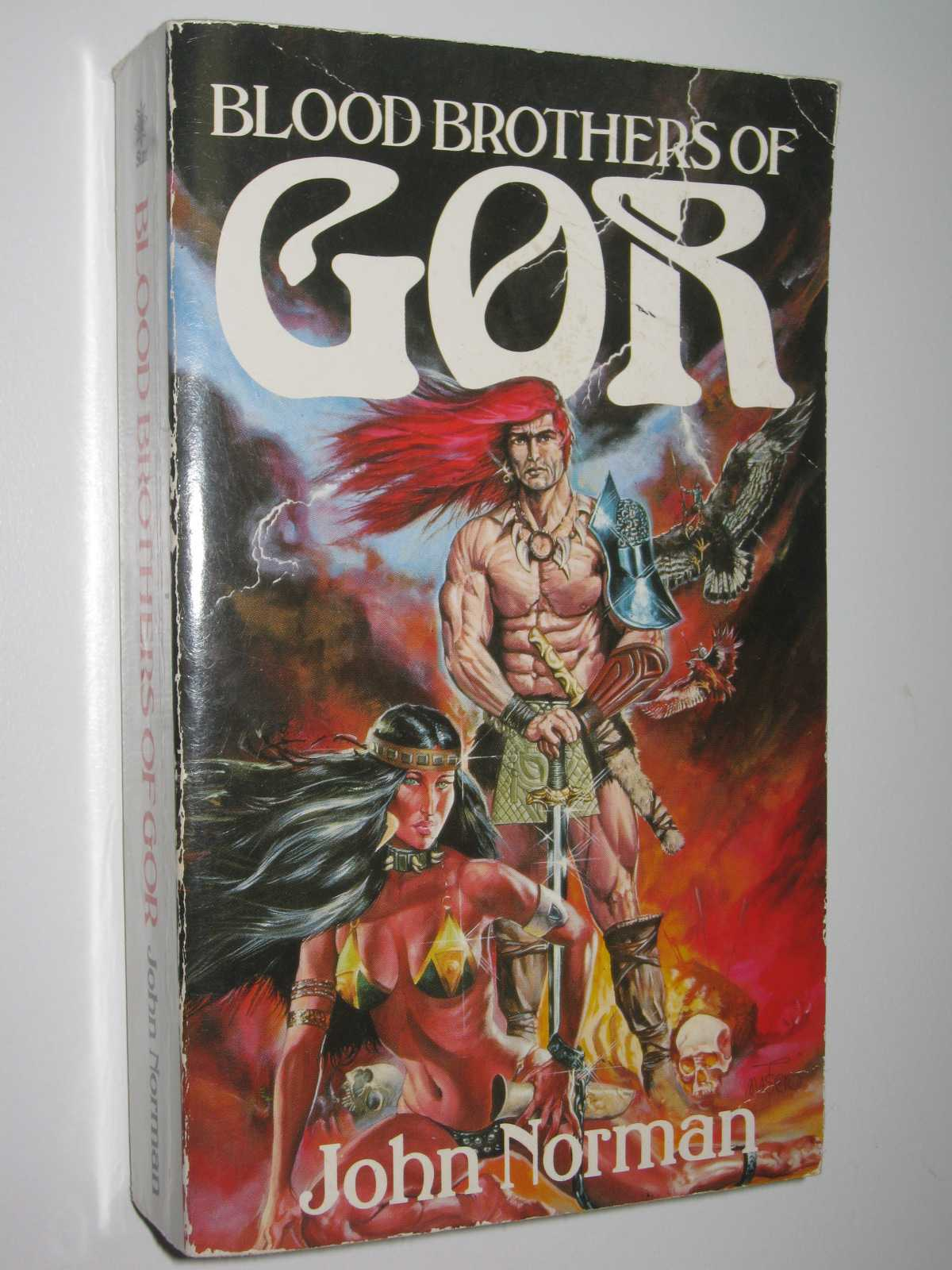 Blood Brothers of Gor - Chronicles of Counter-Earth #18, Norman, John