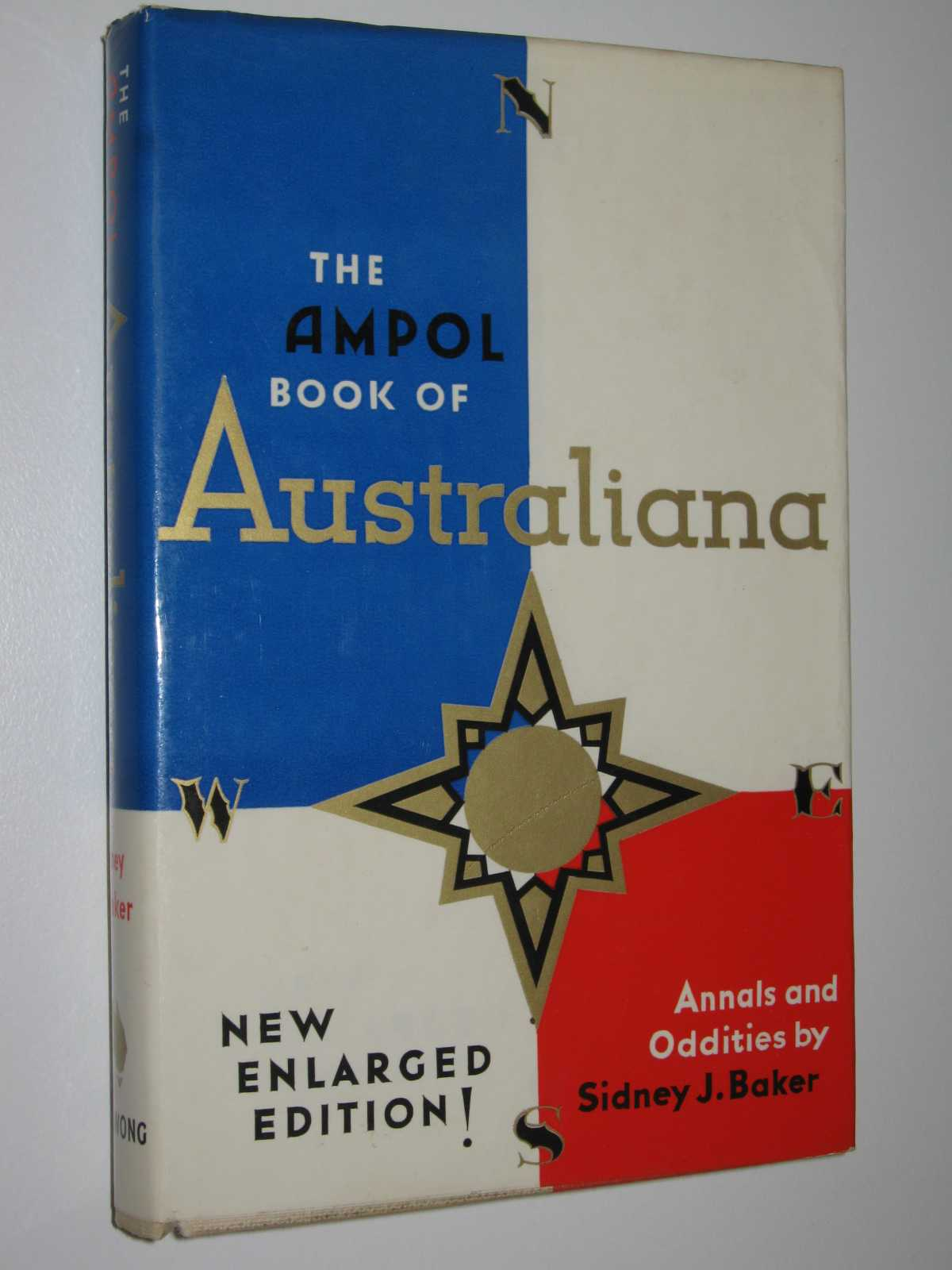 The Ampol Book Of Australiana with Sports Section, Baker, Sidney