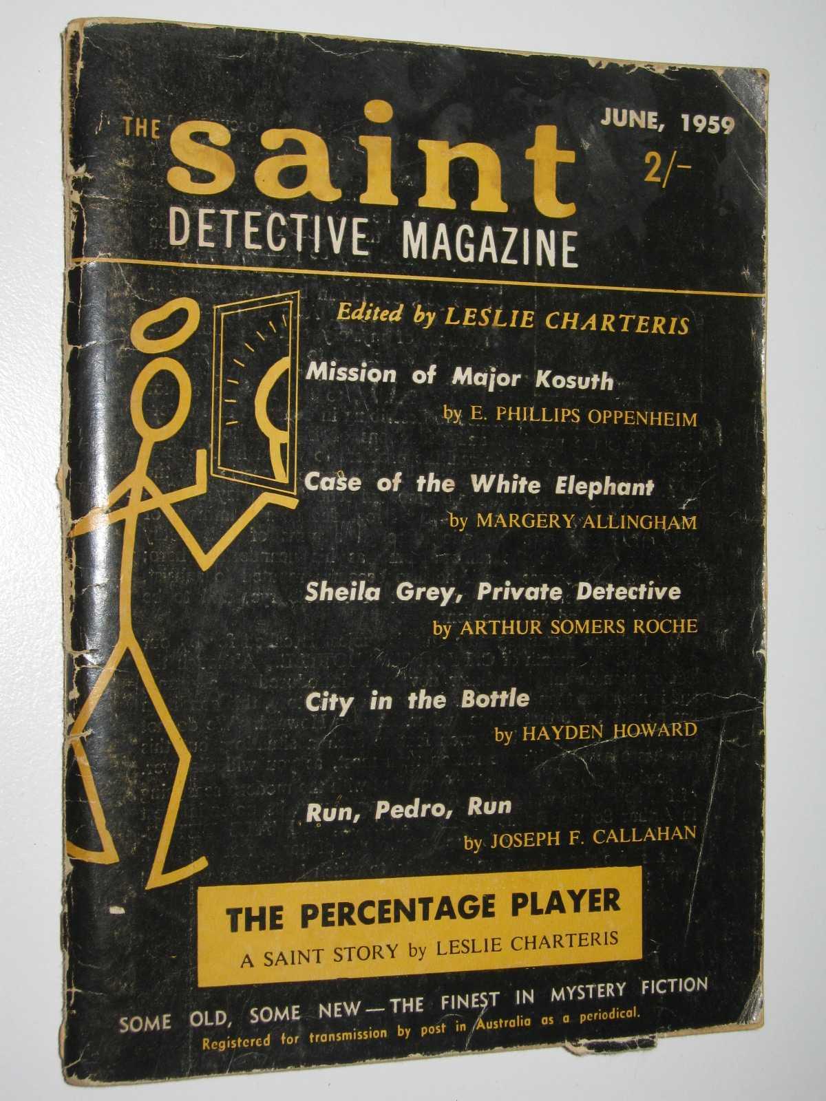 The Saint Detective Magazine June 1959, Charteris, Leslie