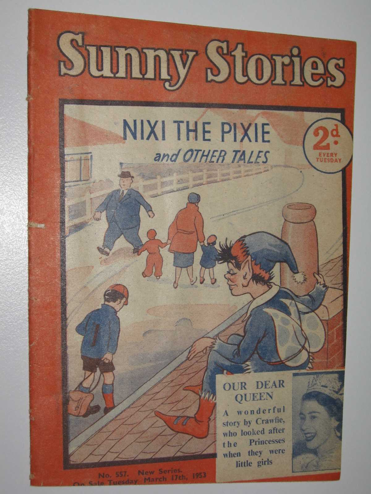 Sunny Stories No. 557 New Series : Nixi the Pixie & Other Tales, Blyton, Enid