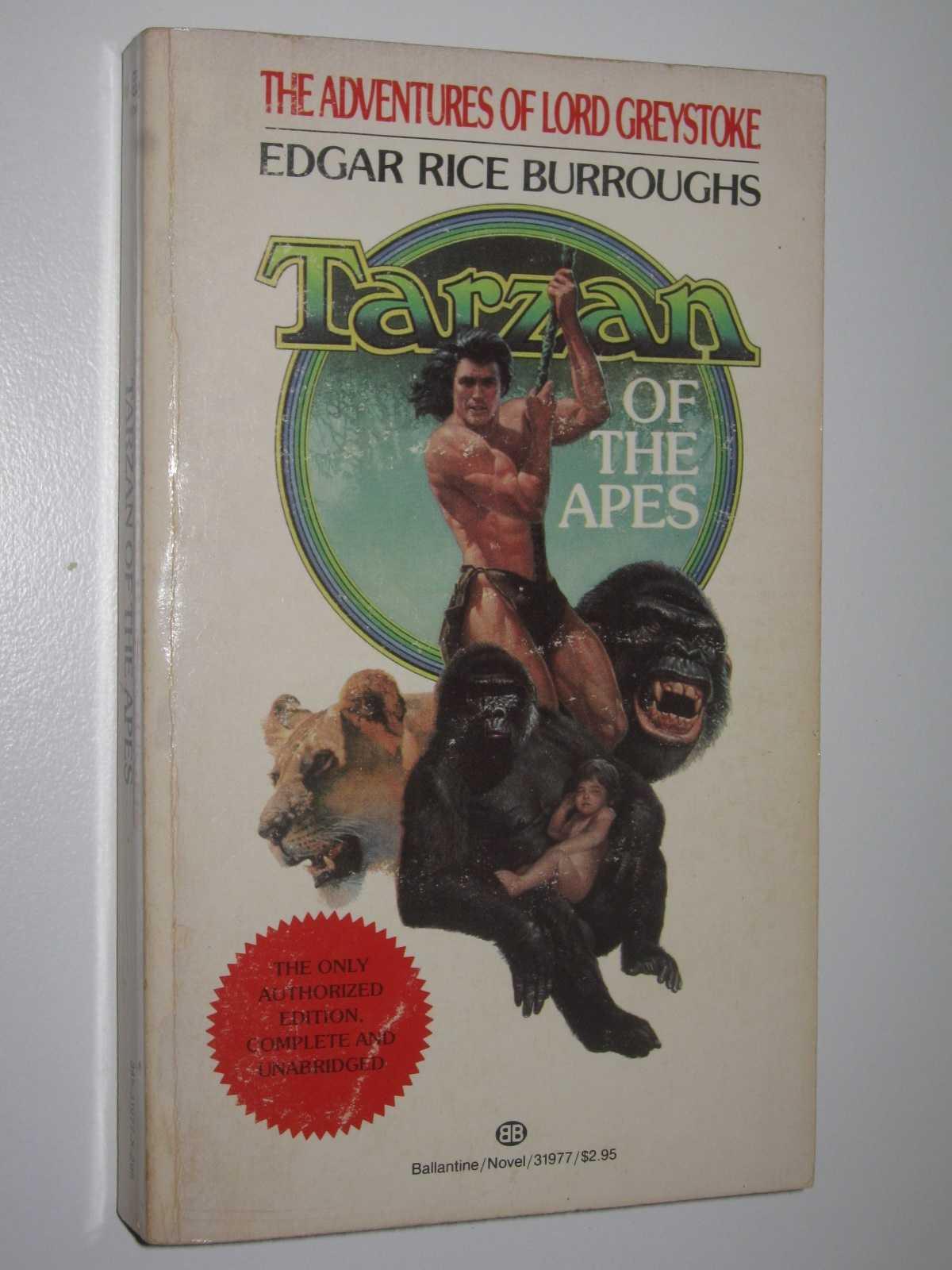 Tarzan of the Apes - Tarzan Series #1, Burroughs, Edgar Rice