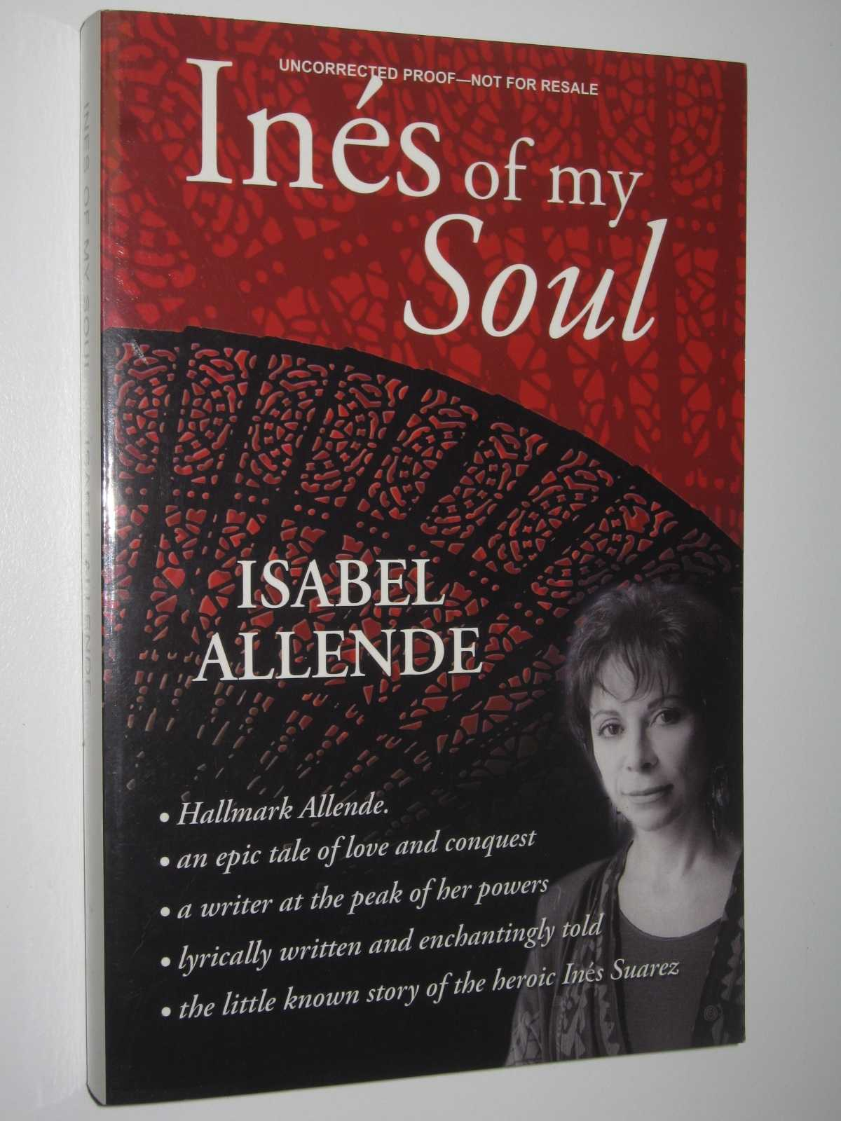 Ines of My Soul, Allende, Isabel