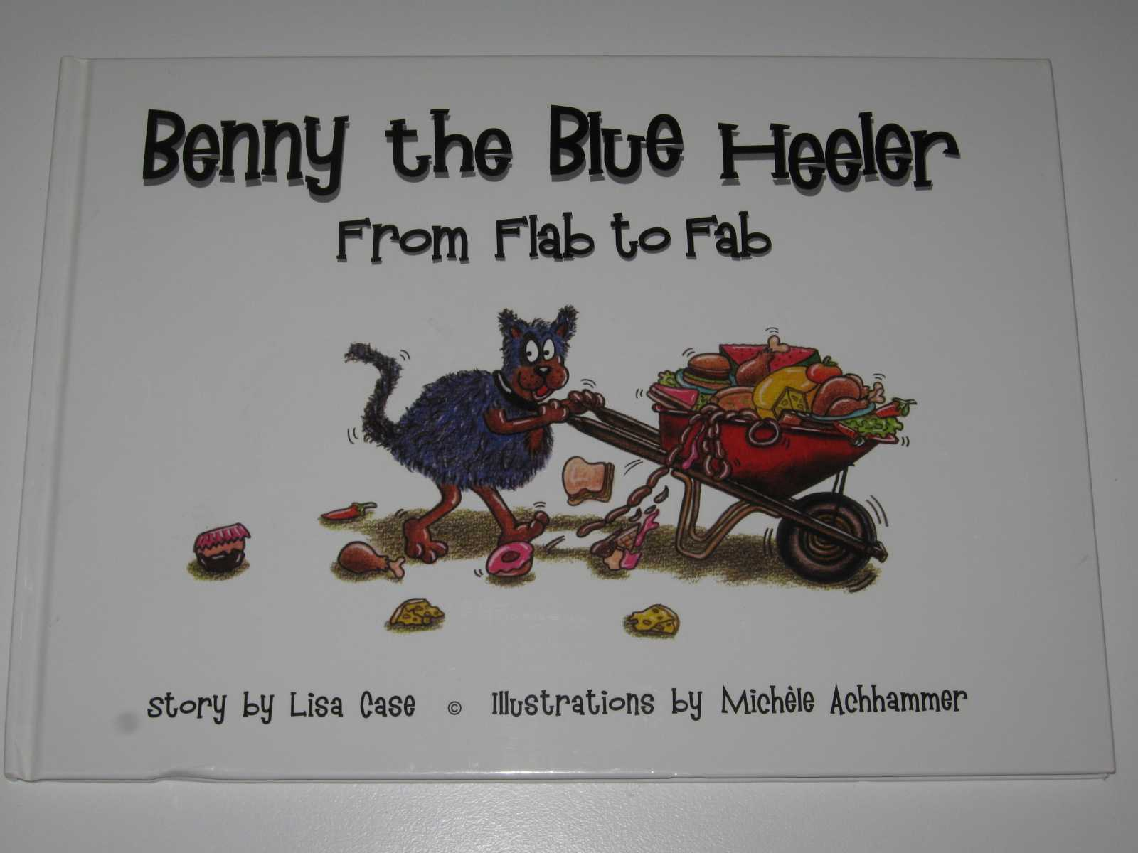 Benny the Blue Heeler from Flab to Fab, Case, Lisa