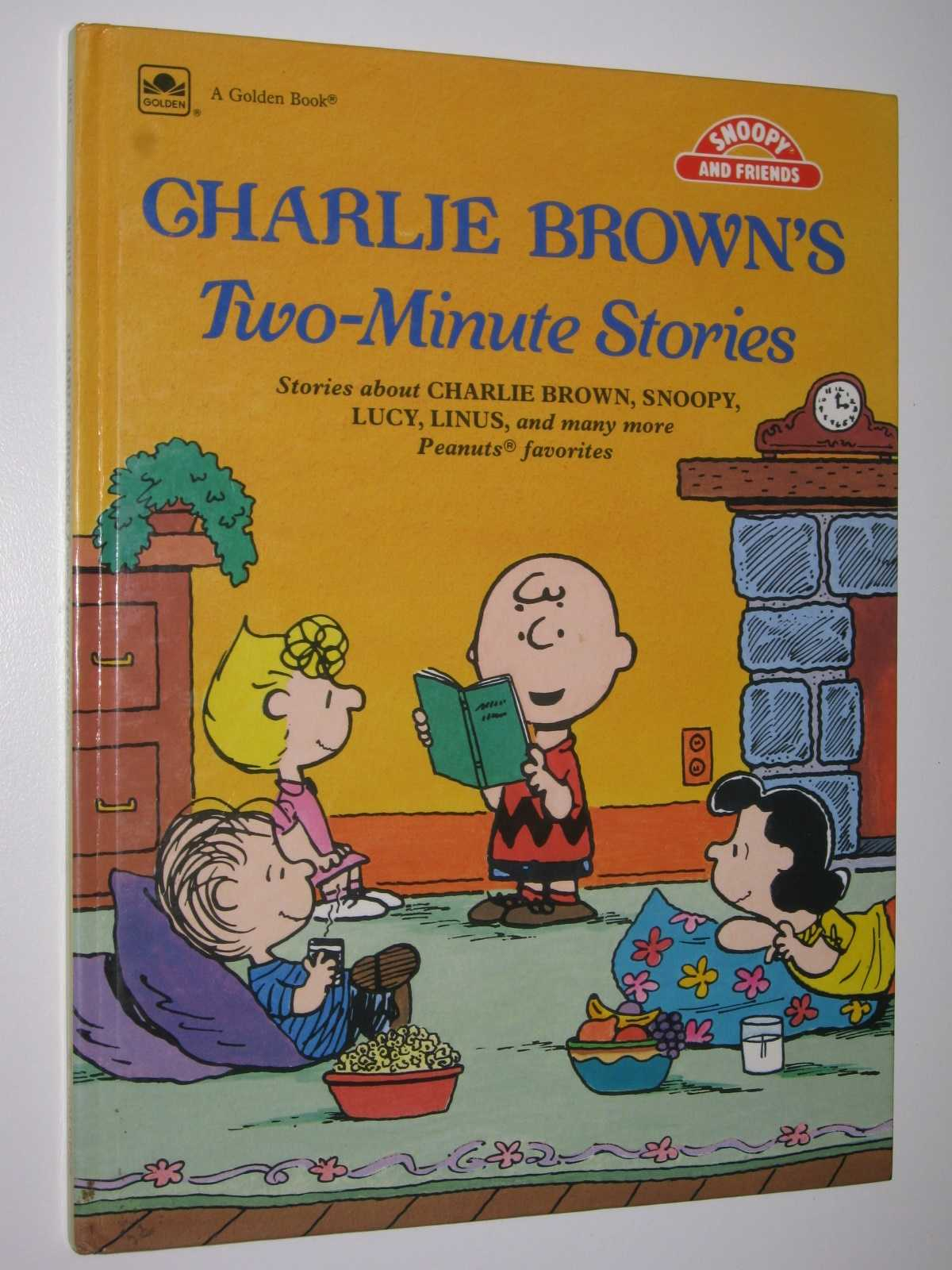 Charlie Brown's Two-Minute Stories, Schulz, Charles M.