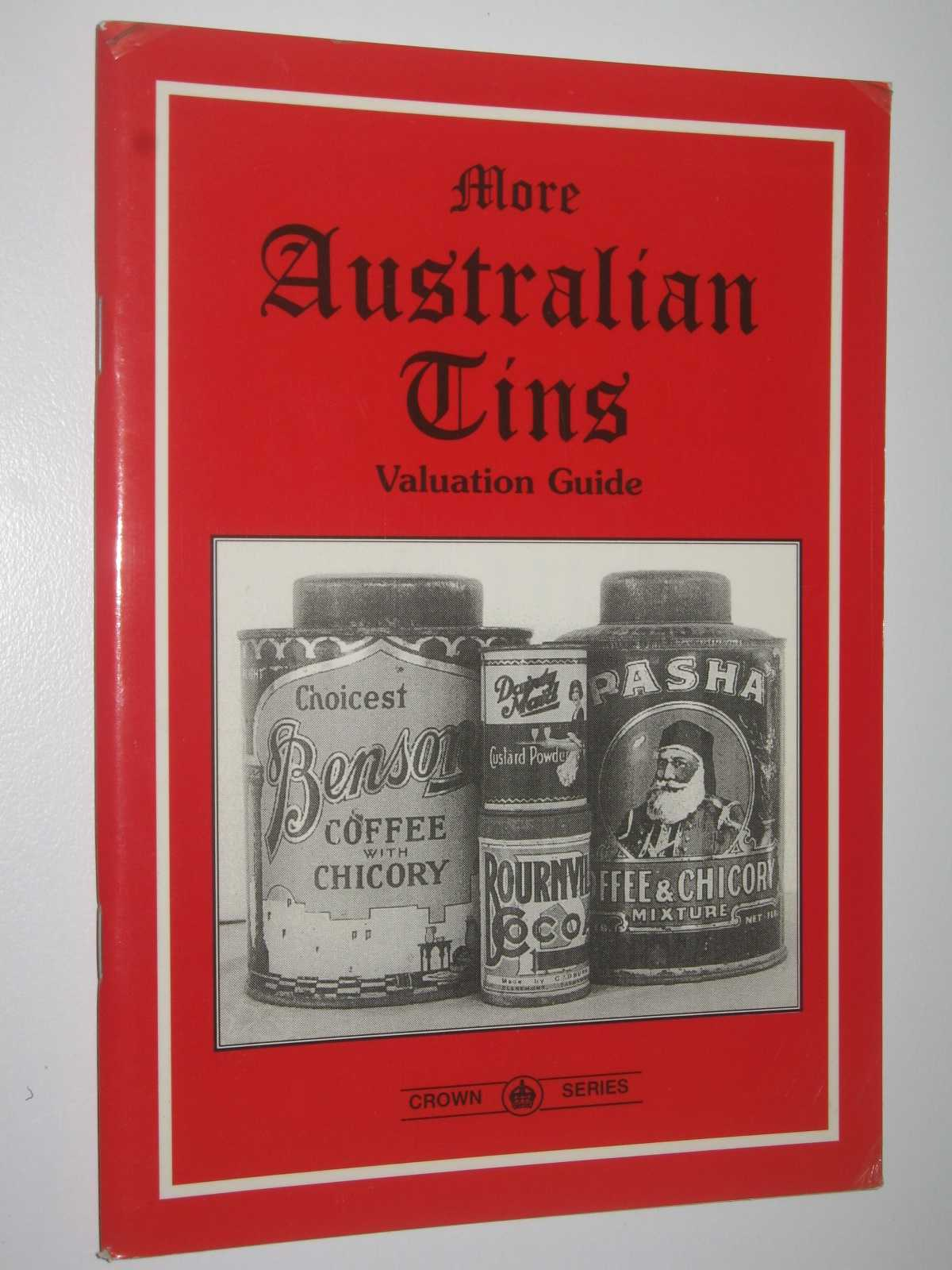 More Australian Tins: Valuation Guide, Taylor, Jean