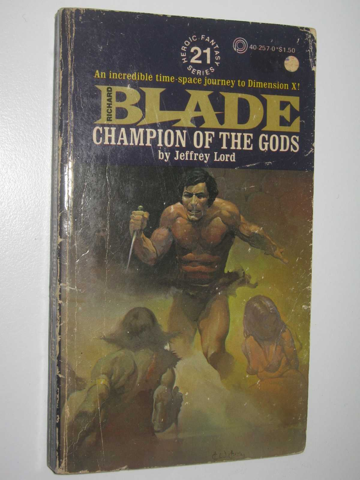 Champion of the Gods - Blade Series #21, Lord, Jeffrey