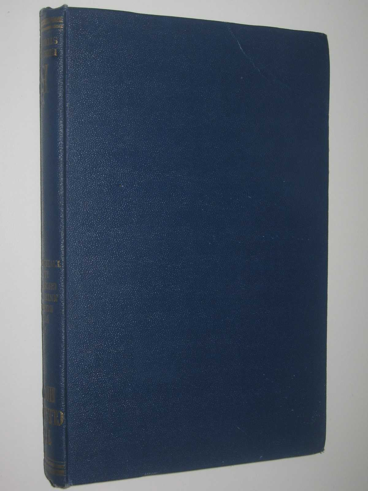 The Clearing House : A Survey of One Man's Mind, Buchan, John