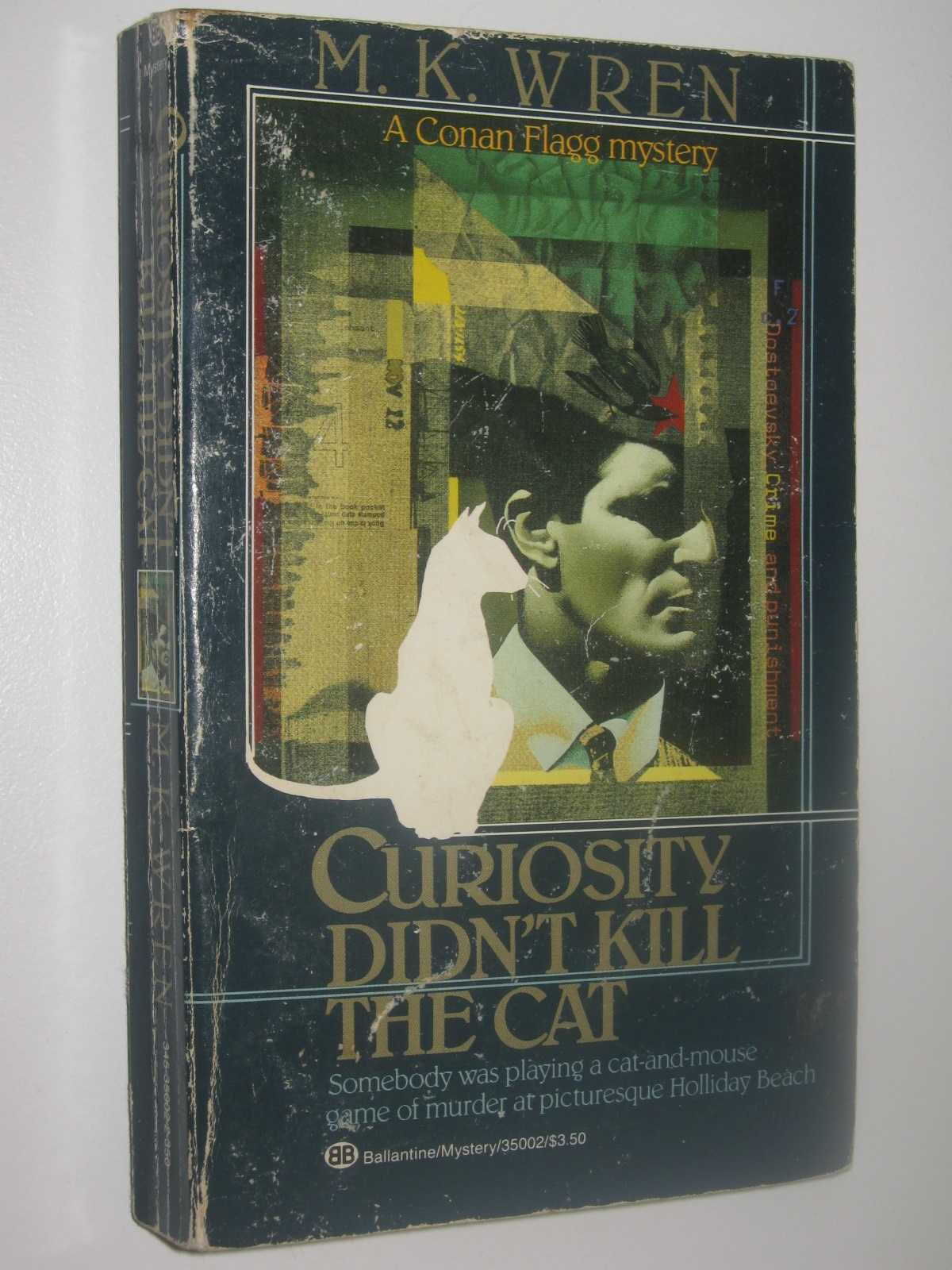 Curiosity Didn't Kill the Cat - Conan Flagg Series, Wren, M. K.