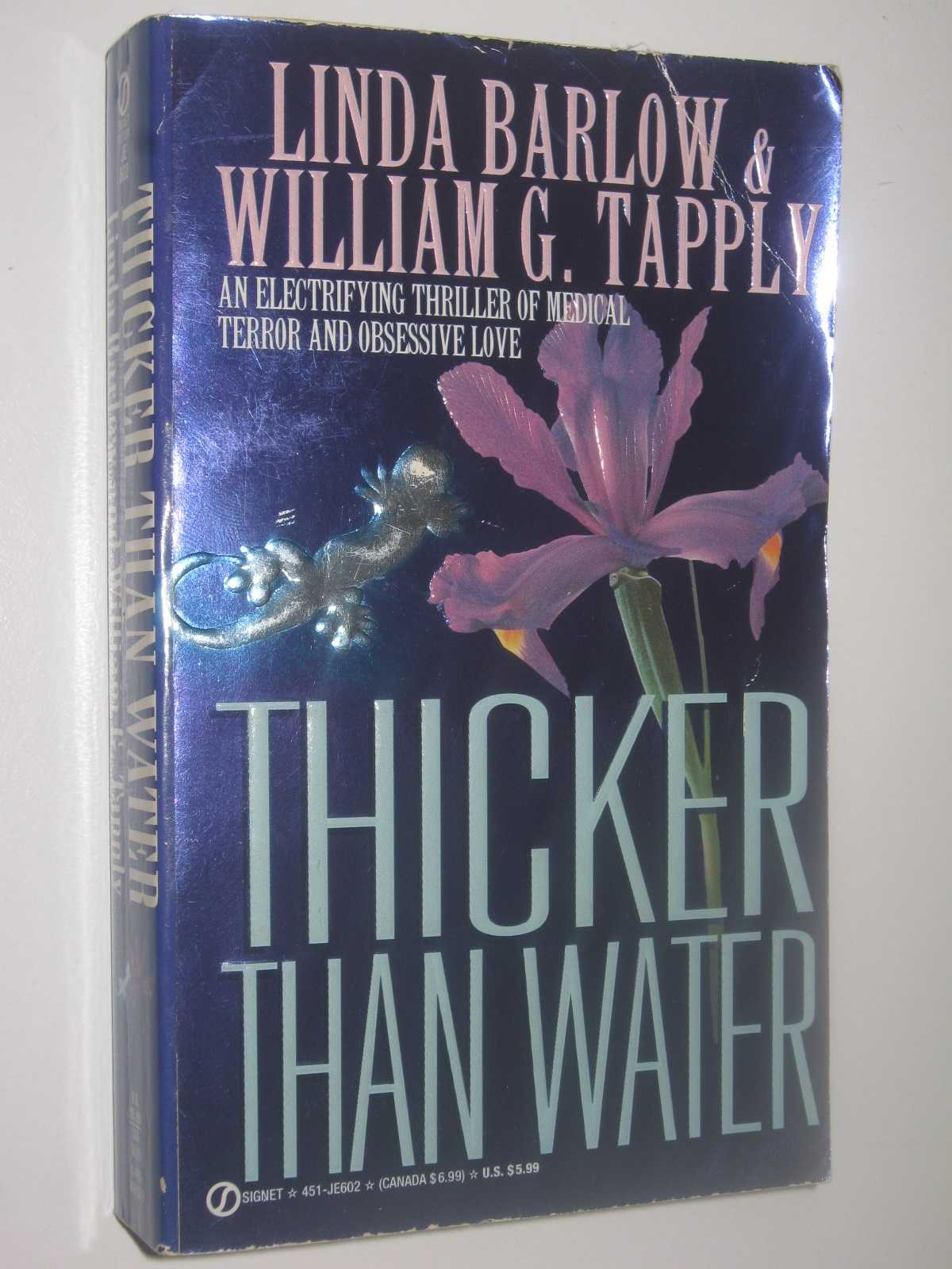 Thicker Than Water, Barlow, Linda & Tapply, William G.