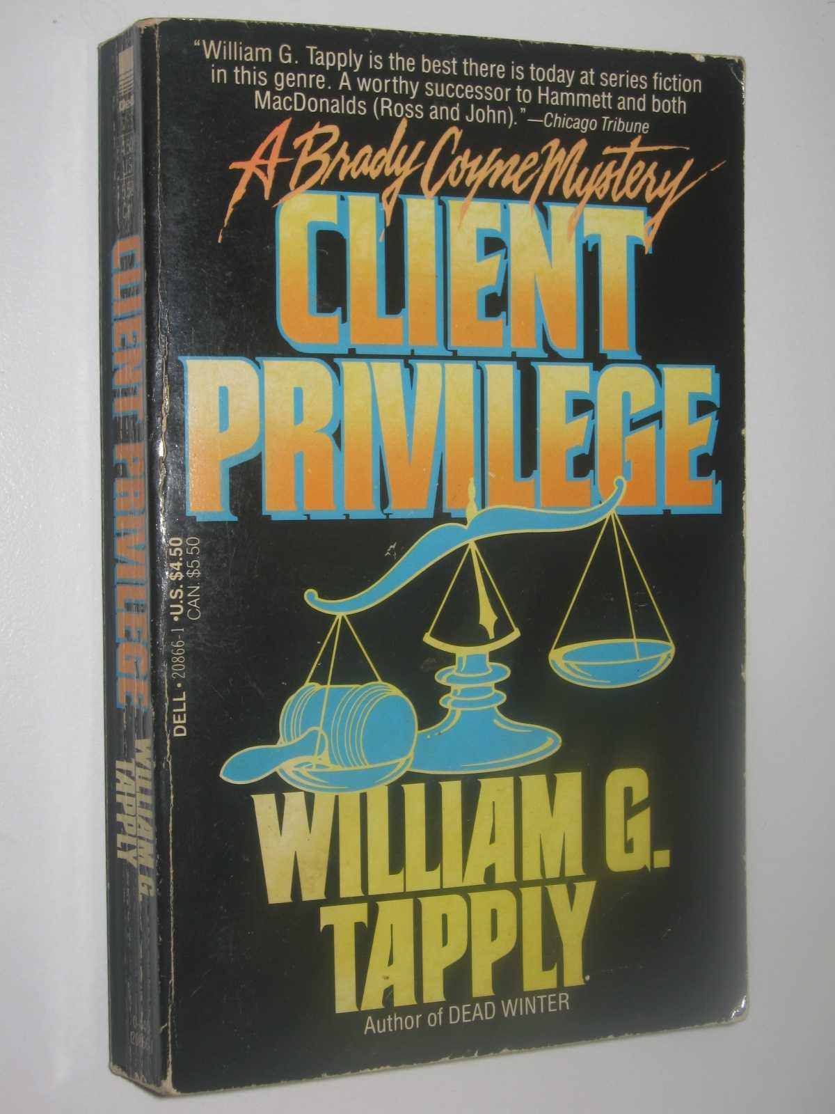 Client Privilege - A Brady Coyne Mystery, Tapply, William G.