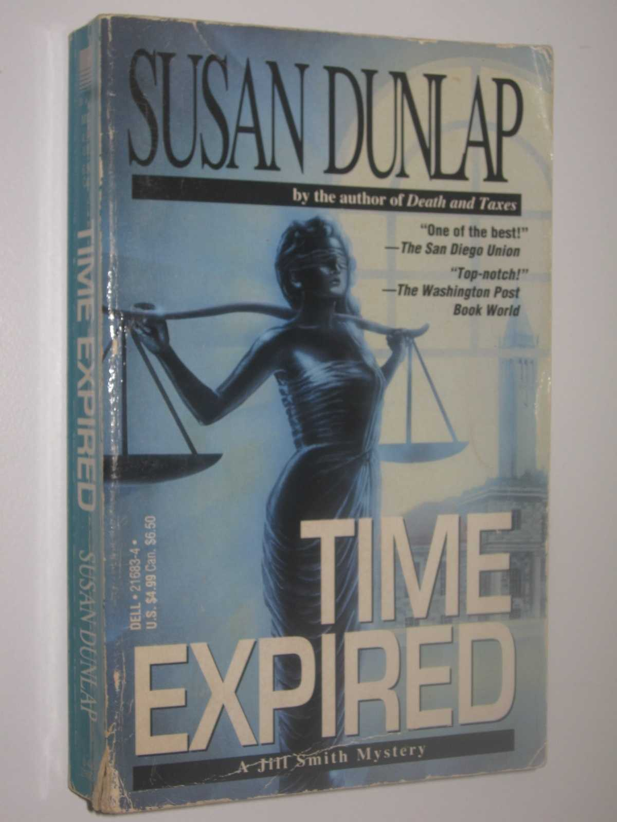 Time Expired - A Jill Smith Mystery, Dunlap, Susan
