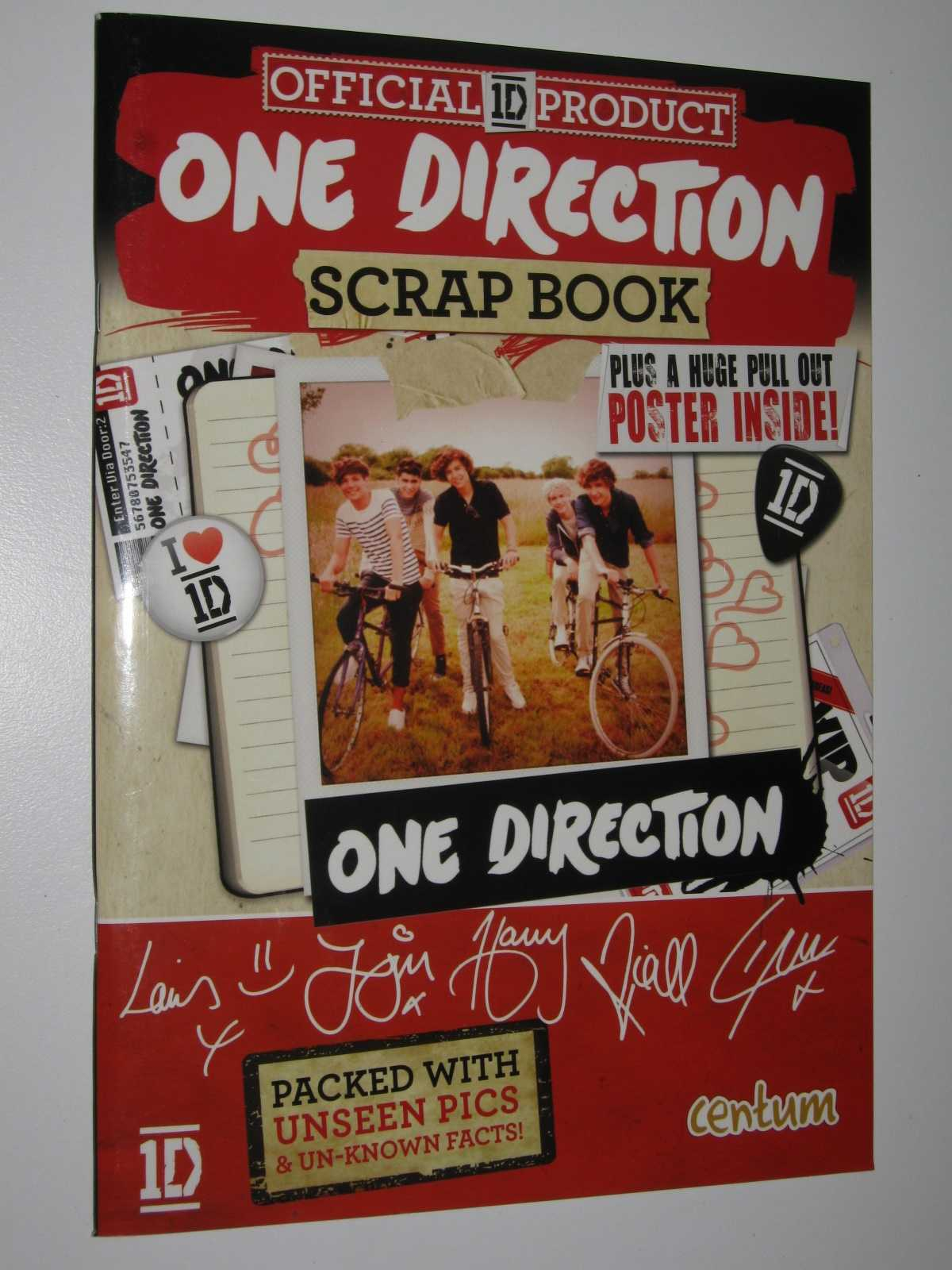One Direction Scrap Book, Author Not Stated