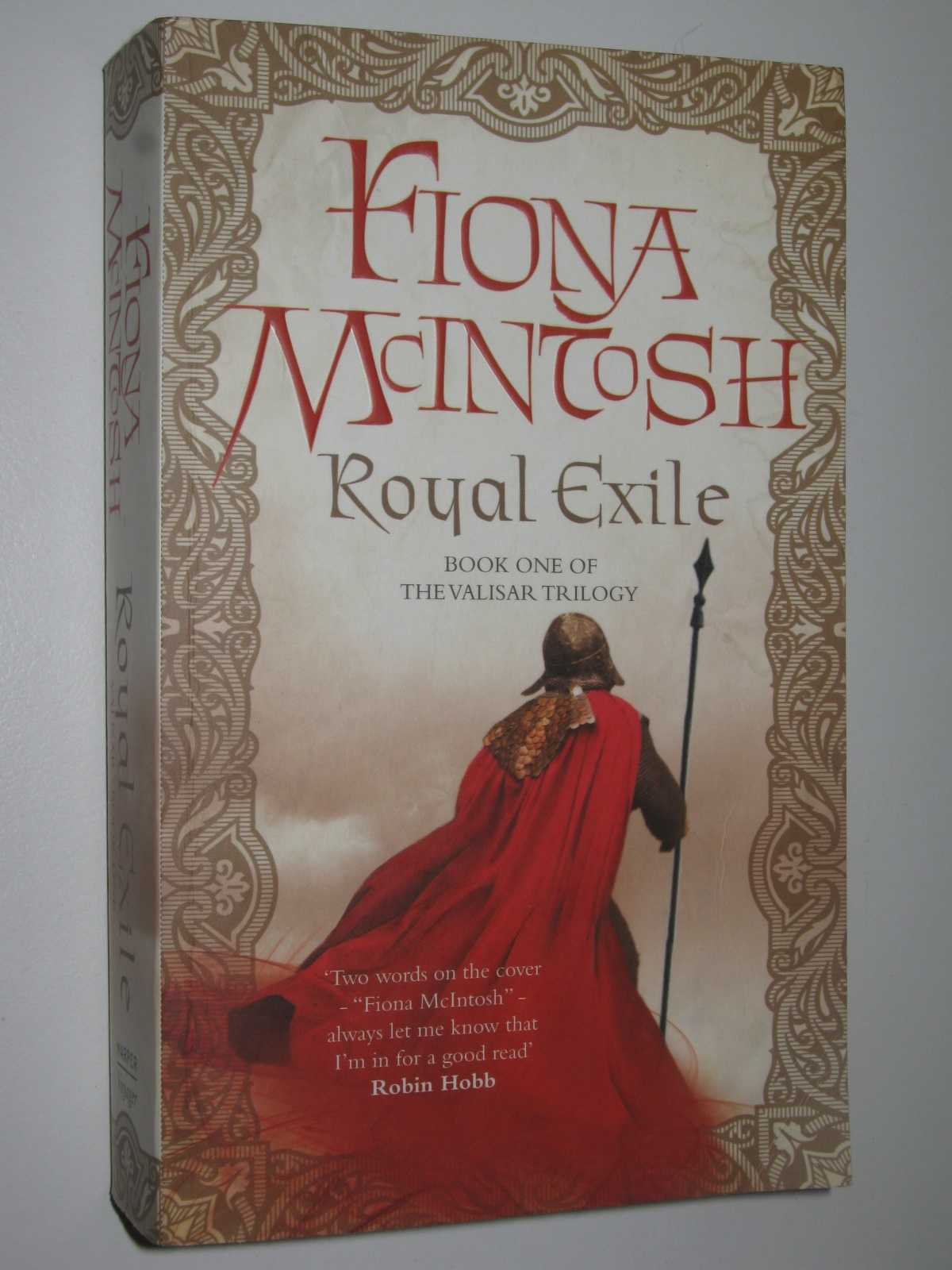 Royal Exile - The Valisar Trilogy #1, McIntosh, Fiona