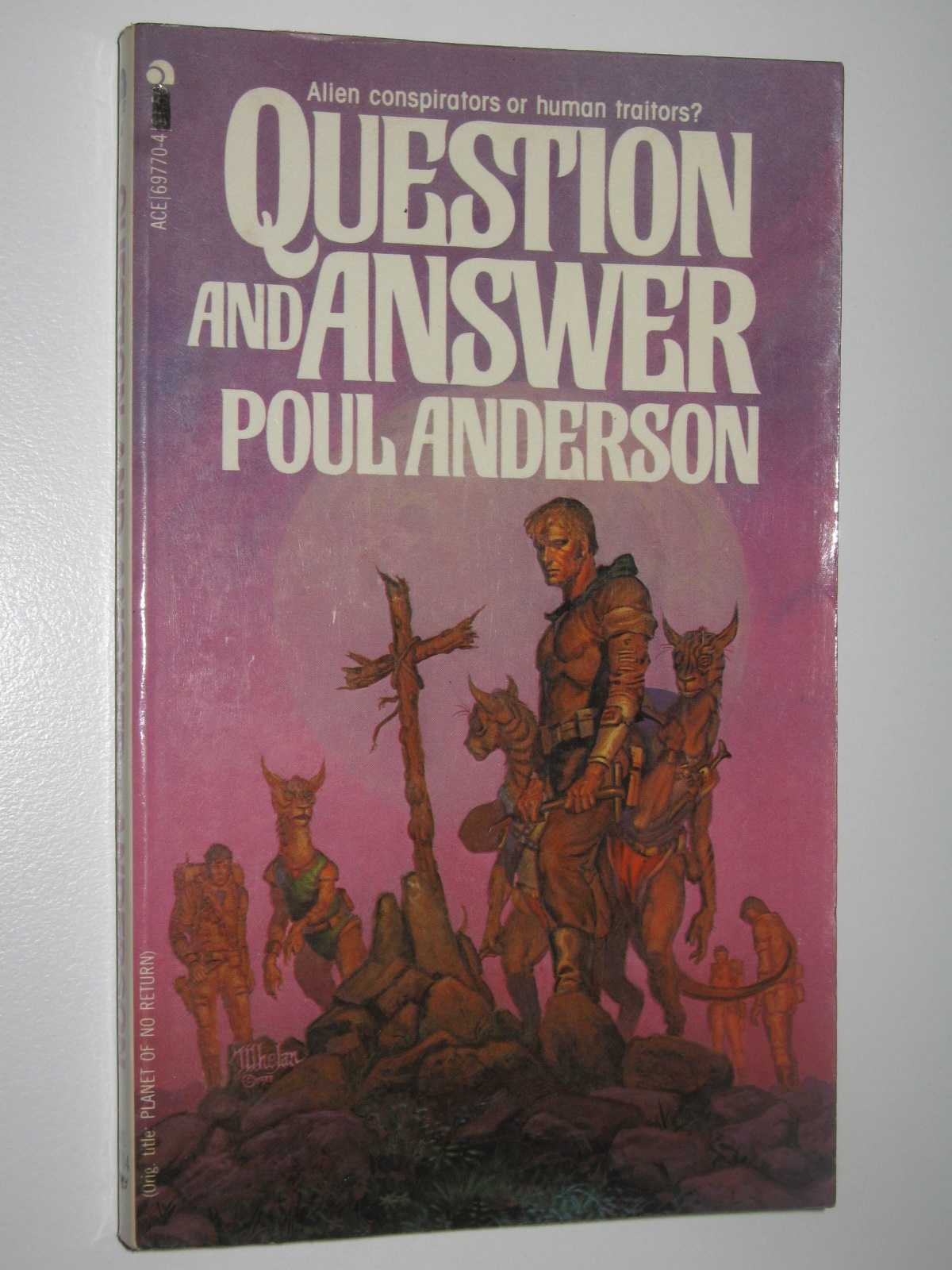 Question and Answer, Anderson, Poul