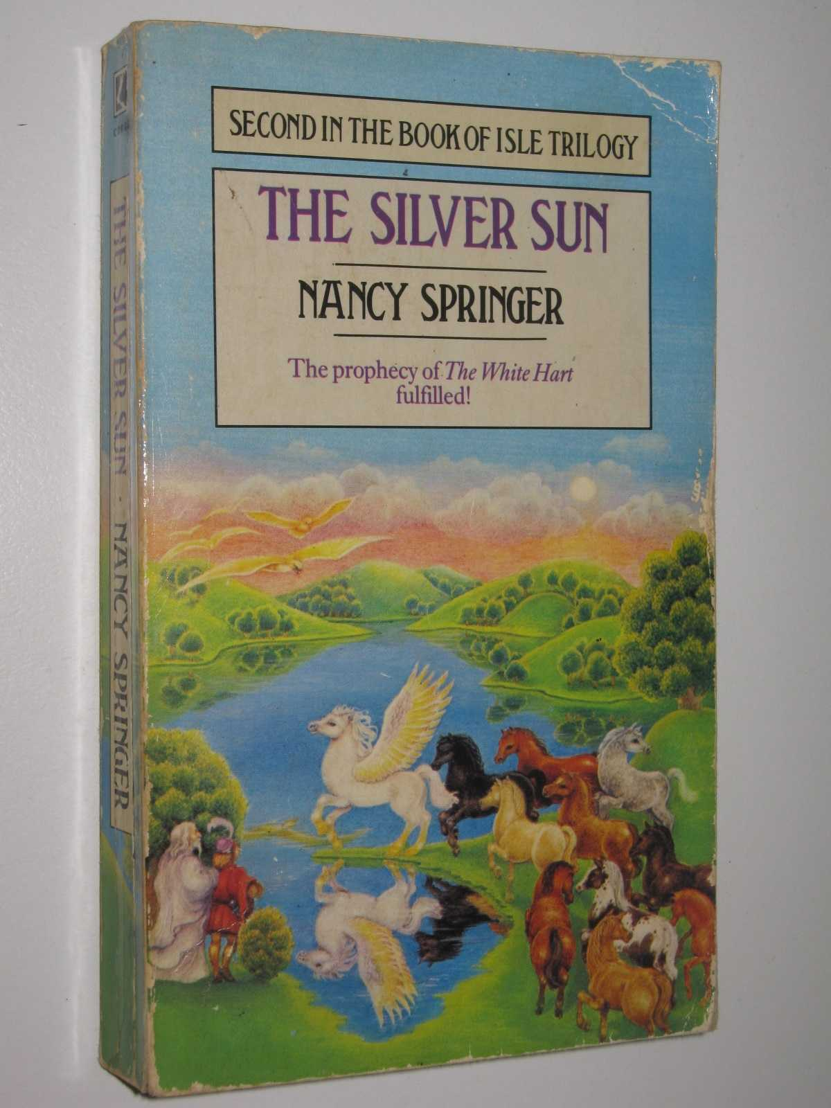 The Silver Sun - Book of the Isle #2, Springer, Nancy