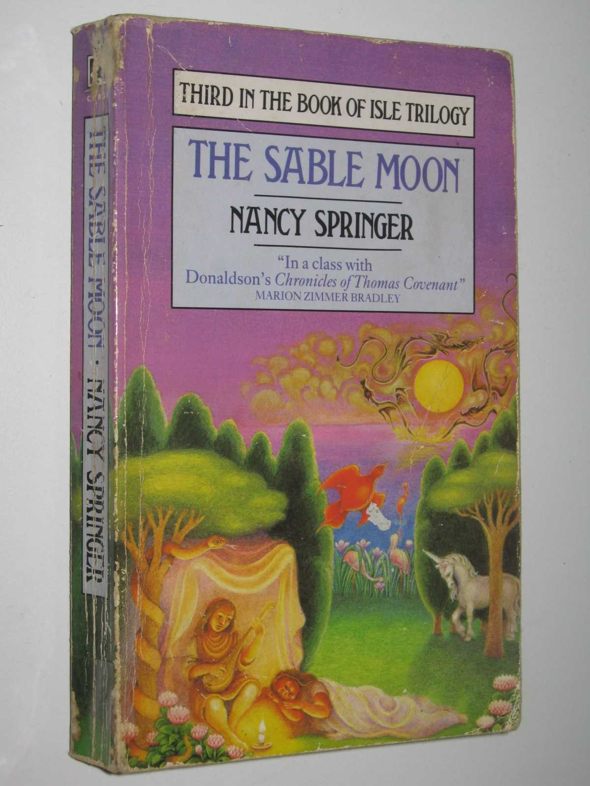 The Sable Moon - Book of the Isle #3, Springer, Nancy