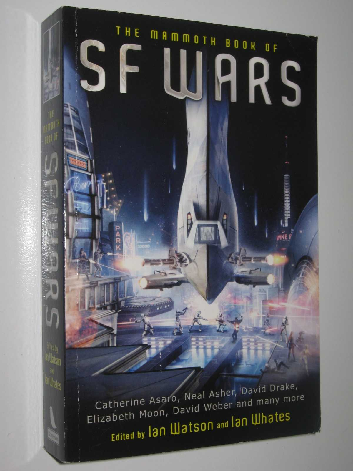 The Mammoth Book of SF Wars, Watson, Ian & Whates, Ian (edited)