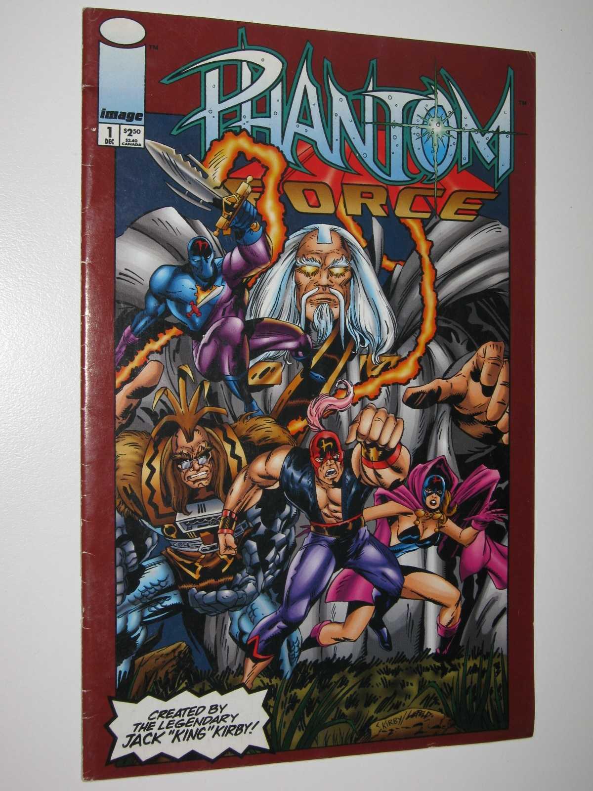 Phantom Force #1, Kirby, Jack