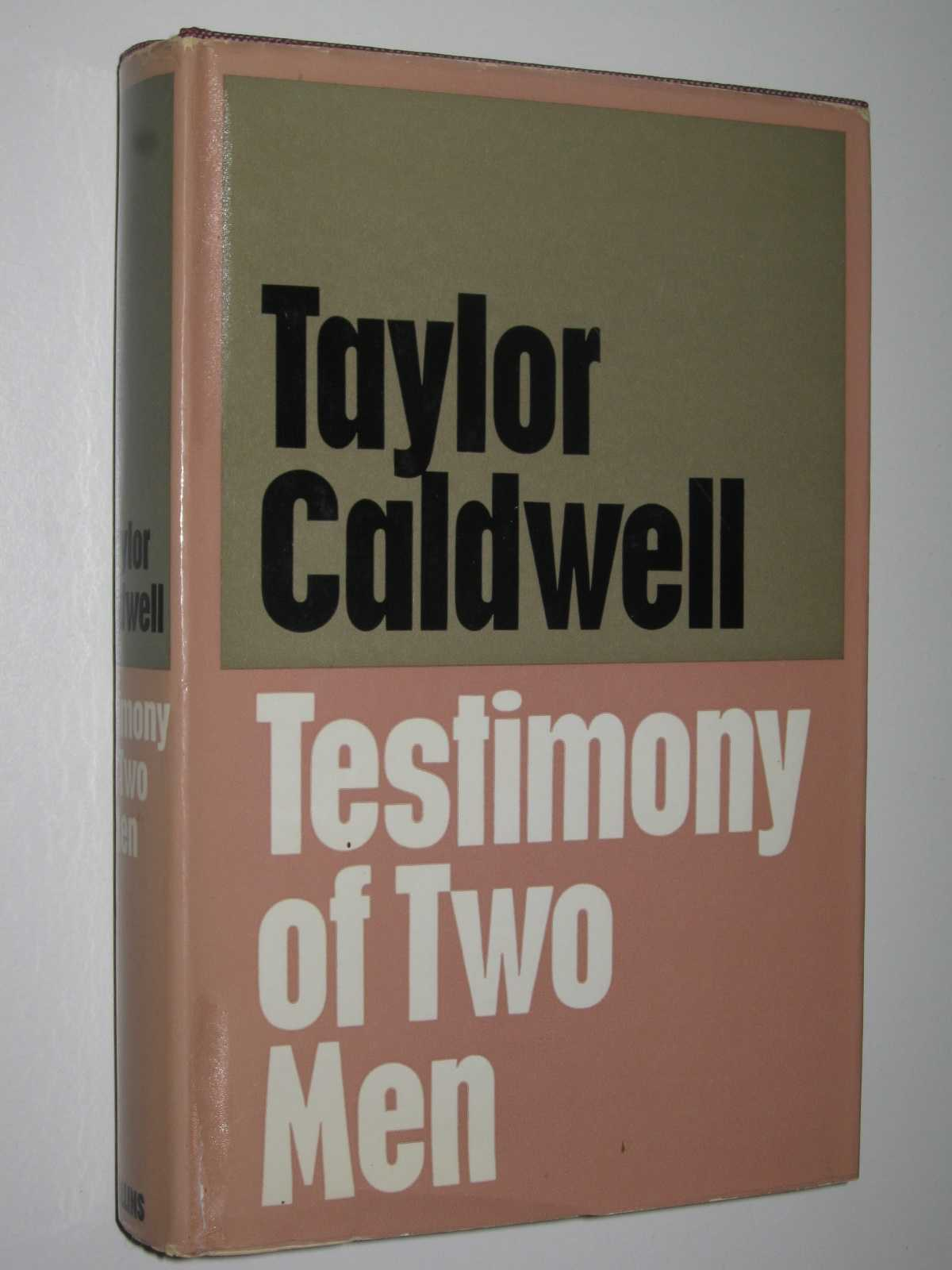 Testimony of Two Men, Caldwell, Taylor