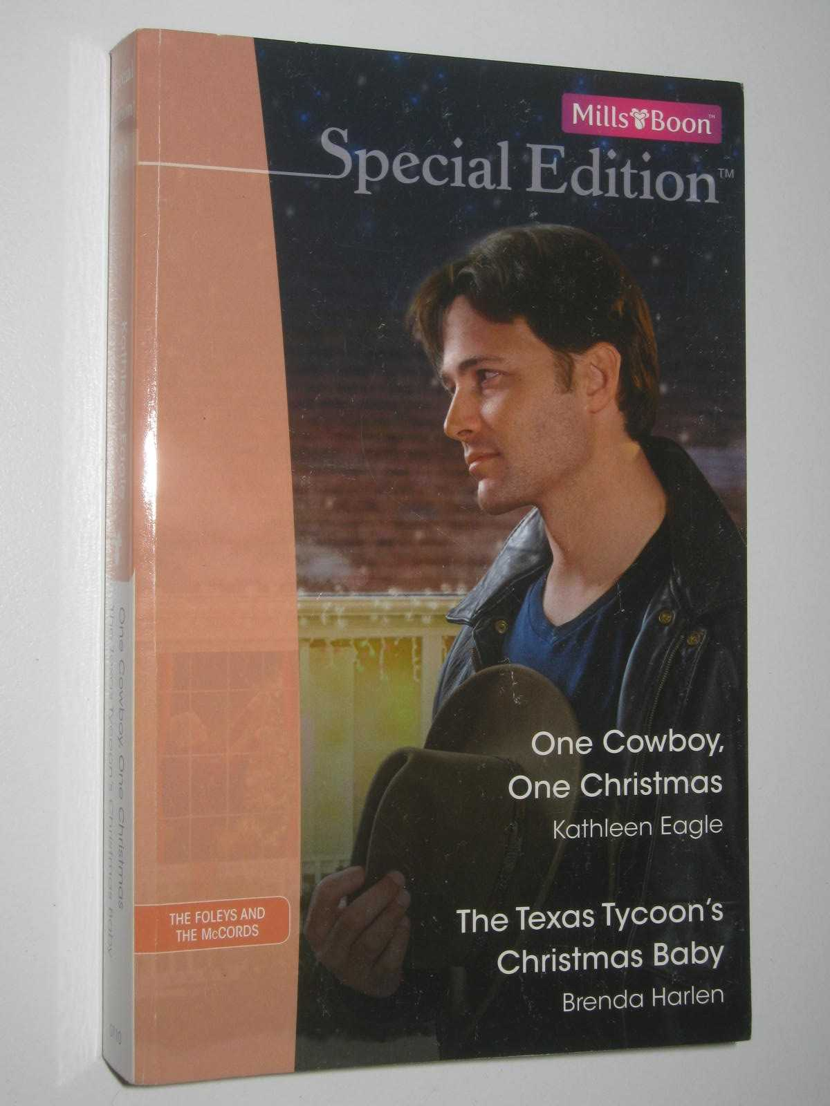 Image for One Cowboy, One Christmas + The Texas Tycoon's Christmas Baby