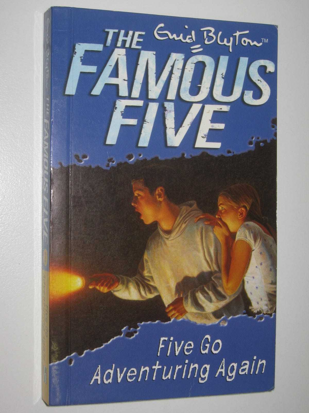 Image for Five Go Adventuring Again - The Famous Five Series #2